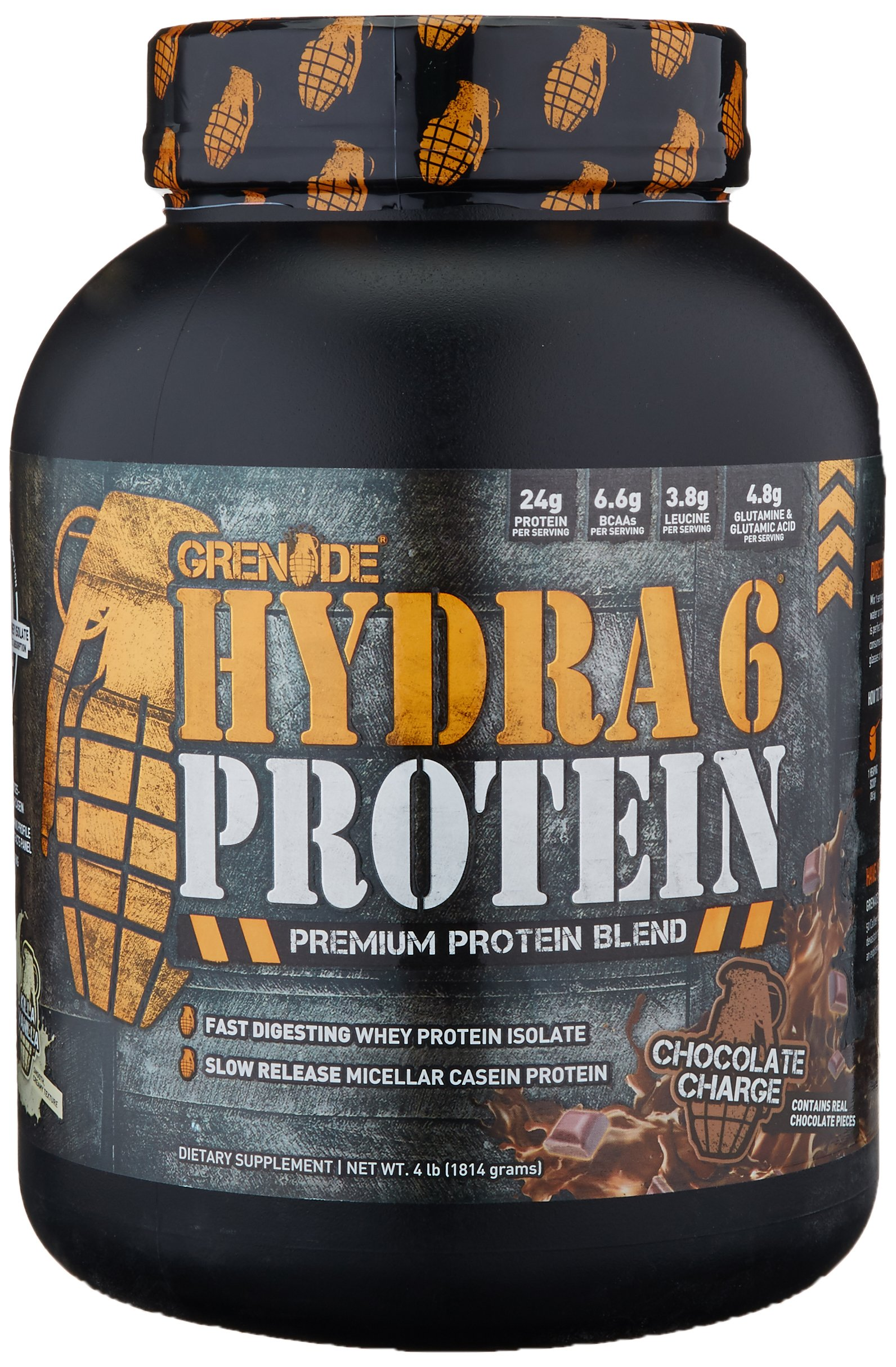 Grenade Whey Protein Powder | 24g Whey Casein Protein per Serving | Low Net Carb Low