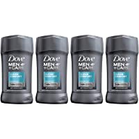 Amazon.com deals on 4-Pack Dove Men+Care Antiperspirant Stick, Clean Comfort 2.7 oz