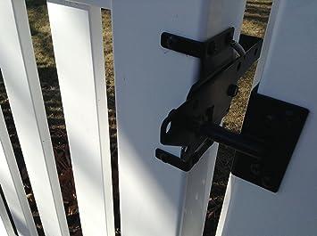 Vinyl Fence Gate Latch