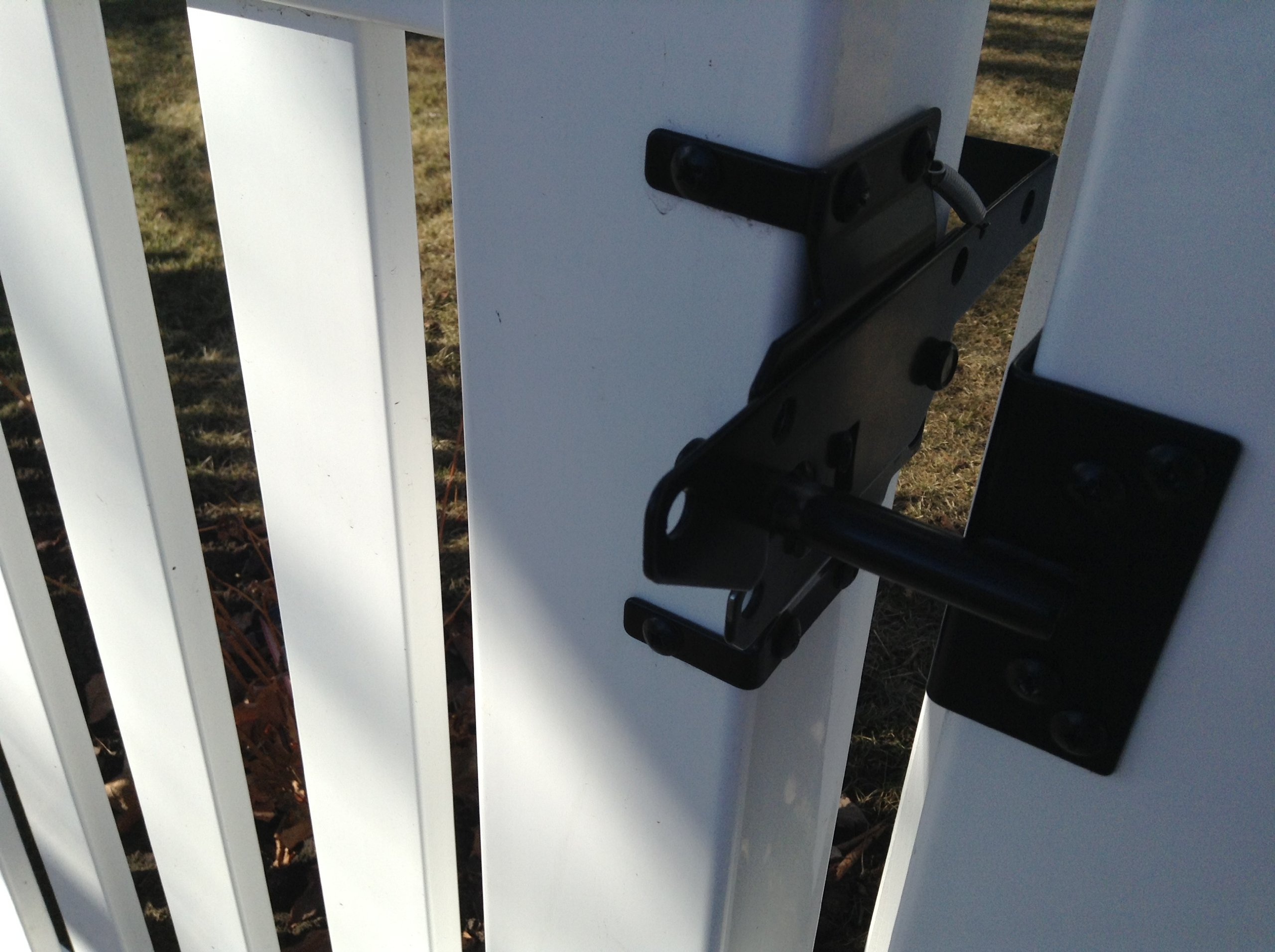 Vinyl Fence Gate Latch by Nationwide Industries by Nationwide Industries