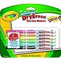 6-Pcs. Crayola Washable Dry-Erase Fine Line Markers