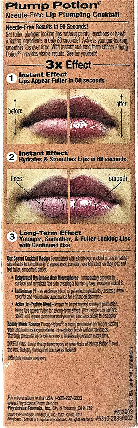Plump Potion Needle-Free Lip Plumping Cocktail by Physicians Formula #21