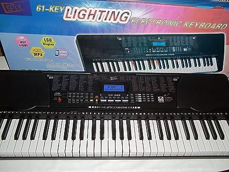 Sintetizador 61 teclas Key Light Stol M825: Amazon.es ...