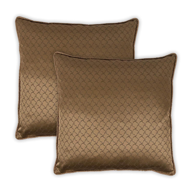 Sherry Kline 豪華 20インチ 装飾用枕 (2個セット)   B07N361L2V