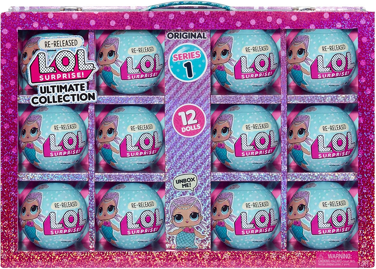 L.O.L. Surprise! Ultimate Collection Merbaby – 12 Re-Released Dolls Series 1