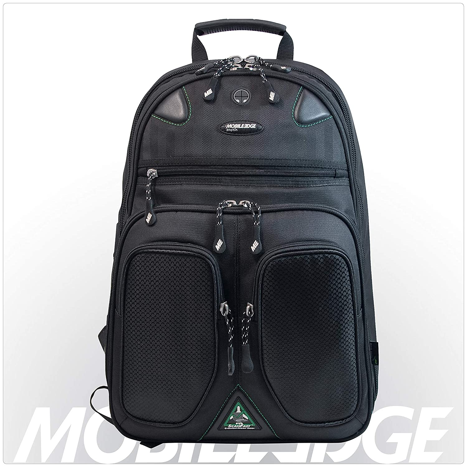 d9609f1fae80 Mobile Edge ScanFast Checkpoint and Eco Friendly Laptop Backpack 16 Inch  PC, 17 Inch Mac for Men, Women, Business Travel, Student, Black MESFBP2.0