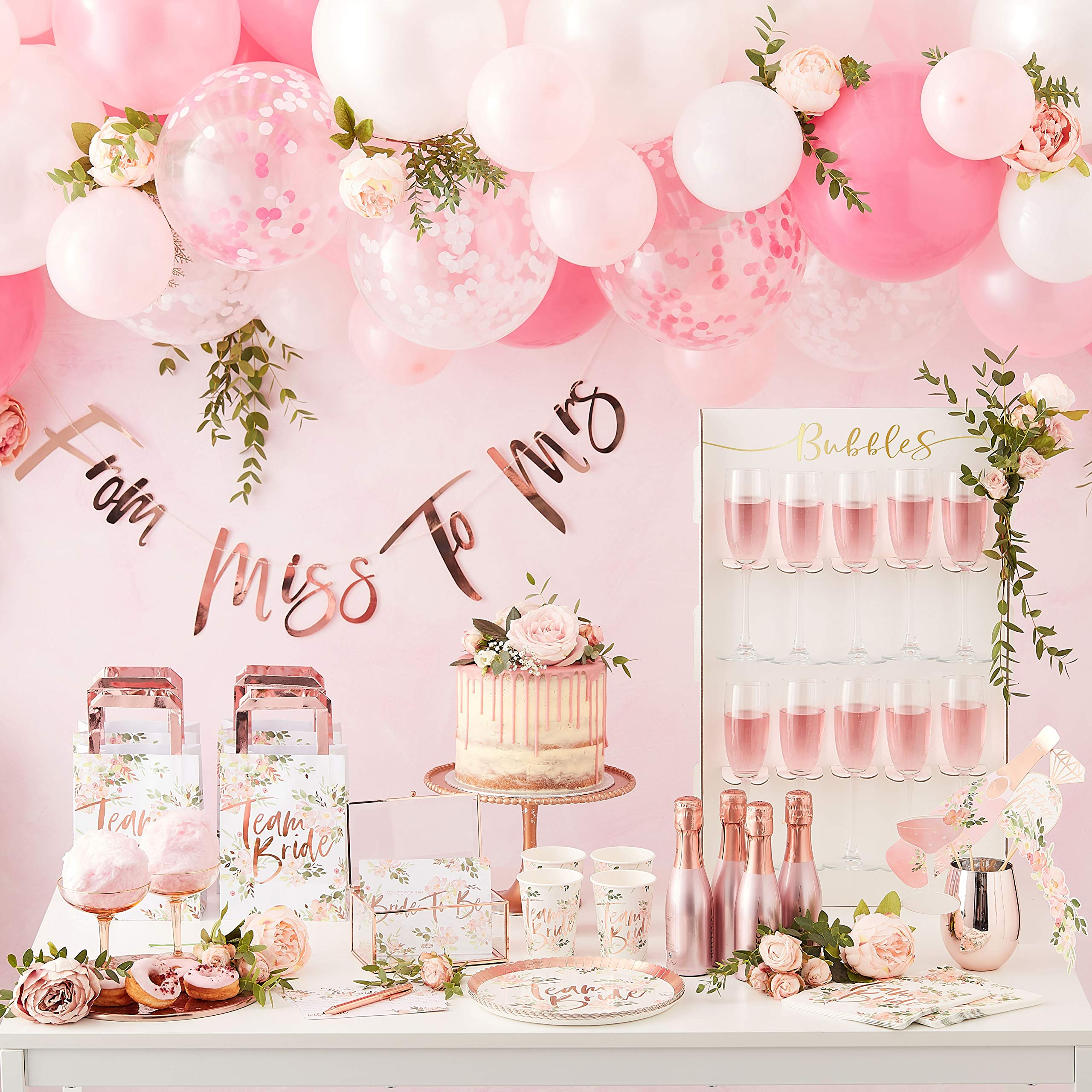 Drinks Wall Bridal Shower Decorations Bridal Shower Games Holds 10 Wine or Champagne Glasses