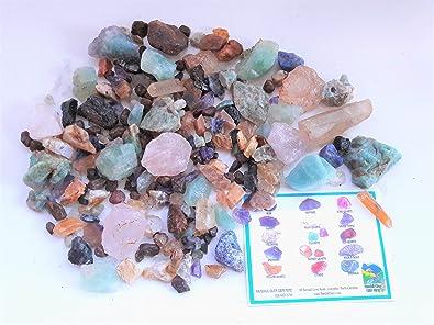 RUBY & SAPPHIRE TREASURE BOX Home Gem Mining Kit 9000+ Carats of Gems