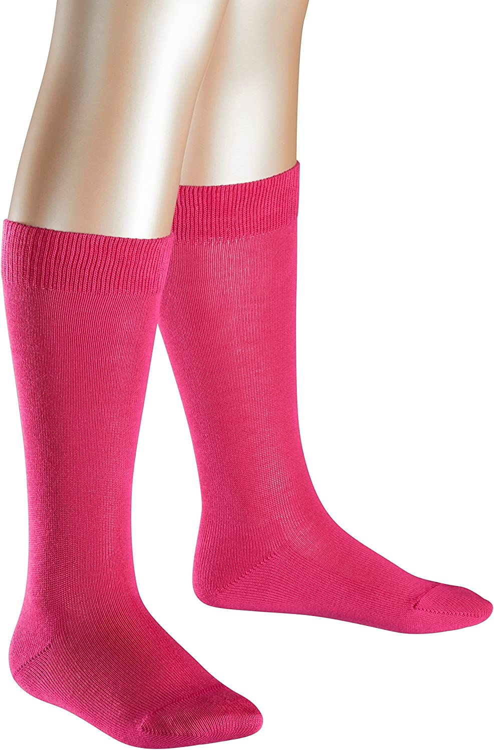 ideal for boots EU 23-42 durable UK sizes 6 1 Pair 94/% Cotton FALKE Kids Family Knee-Highs Multiple Colours - 8 Year-round quality kid