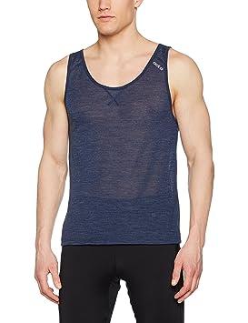 Odlo Camiseta Interior para Hombre. Singlet Crew Neck Revolution TW Light, Hombre, Singlet