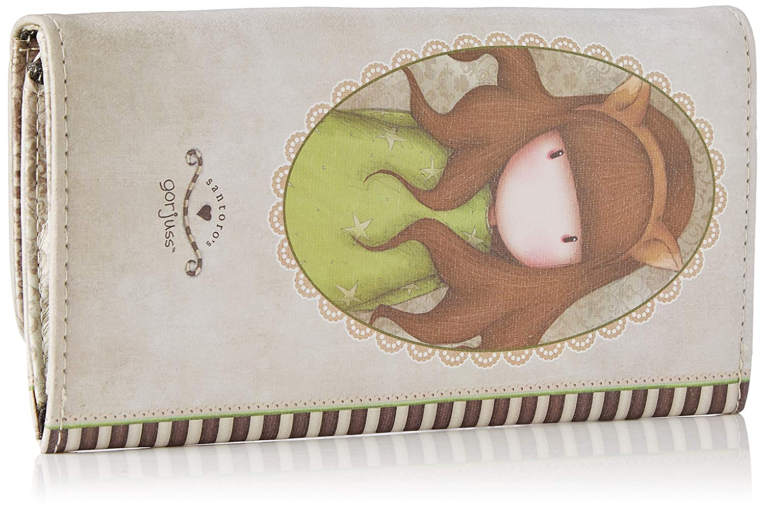 Amazon.com: Santoro Gorjuss The Fox Wallet Green