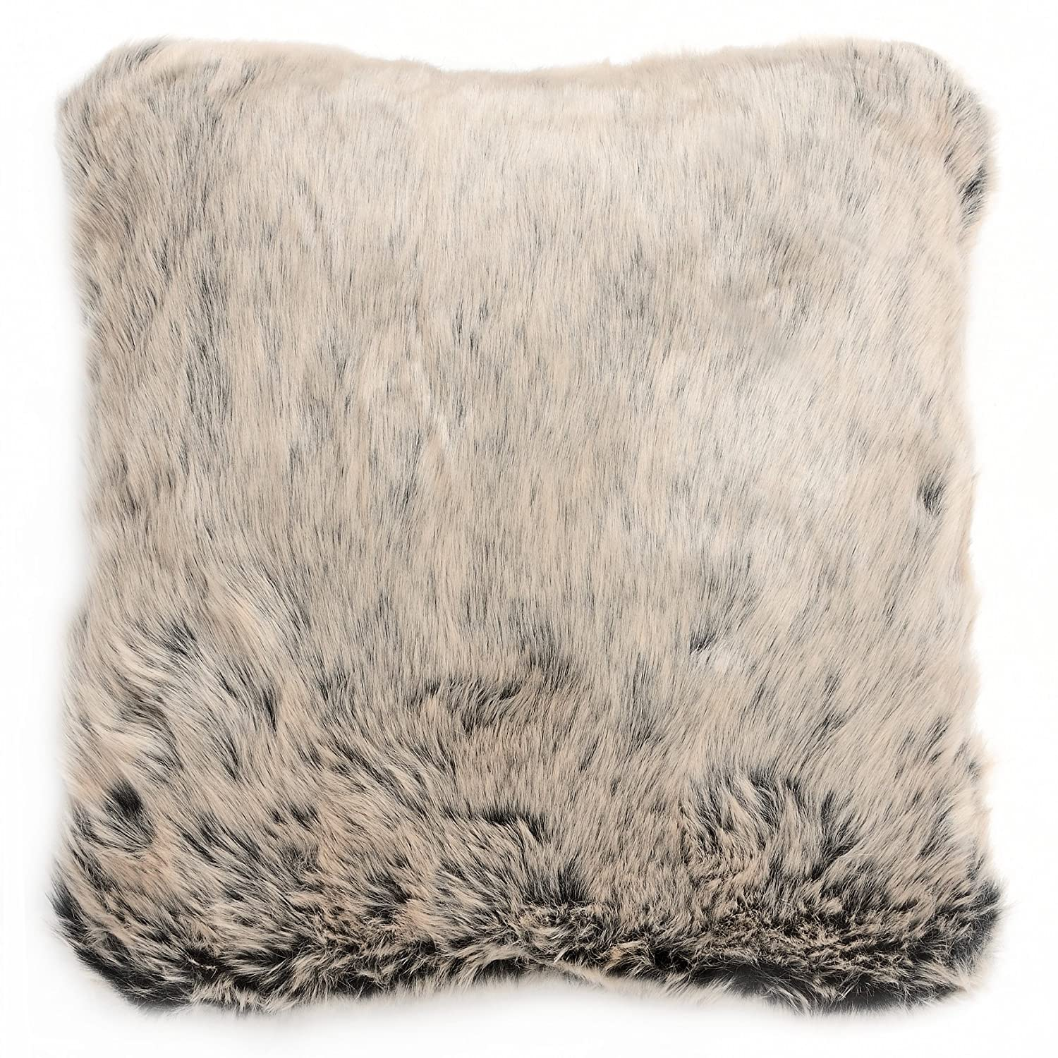 Hill Interiors Faux Fur Cushion (15.7in x 15.7in) (White) UTHI1773_1