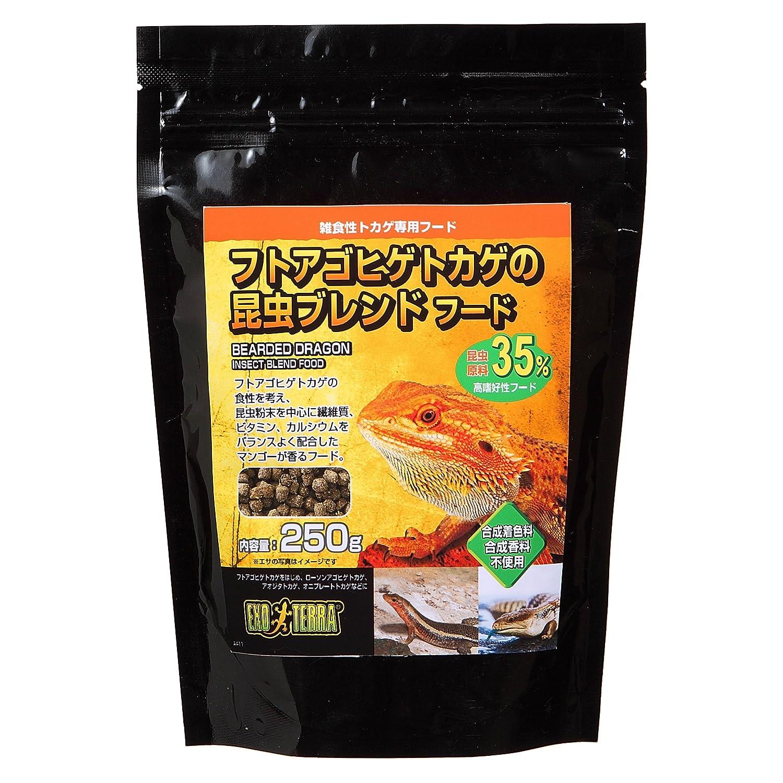 ジェックス フトアゴヒゲトカゲの昆虫ブレンドフード 250g 昆虫原料35%使用