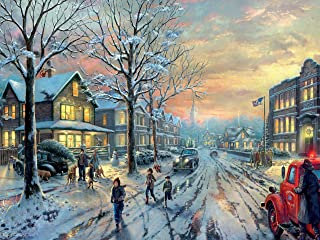 product image for Ceaco Thomas Kinkade Holiday Movies A Christmas Story Jigsaw Puzzles, 300 Pieces