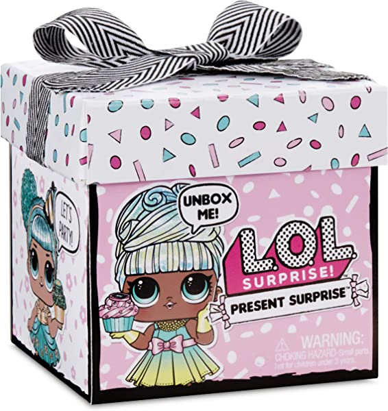 L.O.L. Surprise! Present Surprise collectible fashion dolls unboxing toy for kids