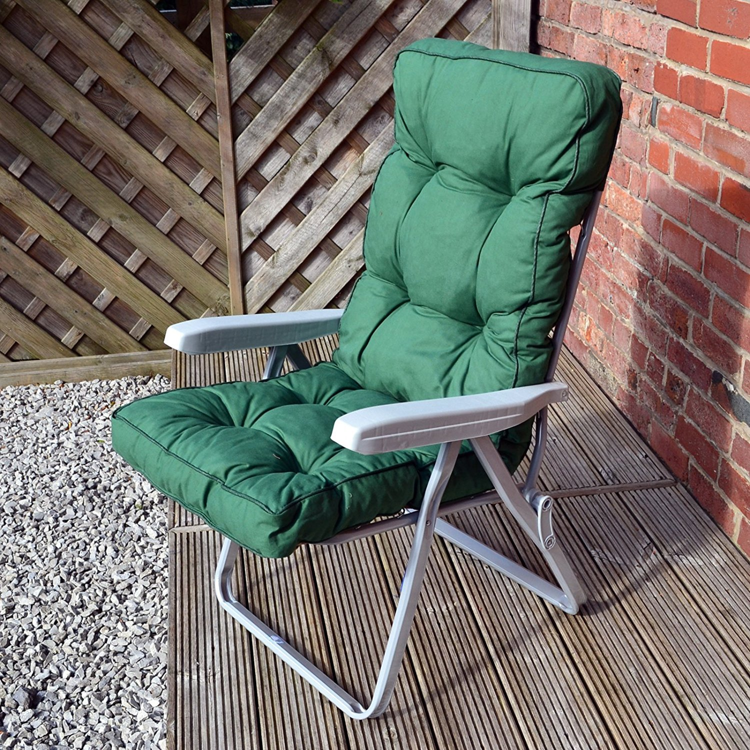 Buy Alfresia Green : Garden Reclining Recliner Chair