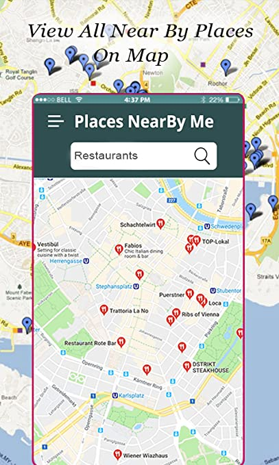 Amazon.com: Restaurant Finder :Find Places Near Me: Appstore ... on cafes nearby, food delivery nearby, parks nearby, attractions nearby, japanese gardens nearby,