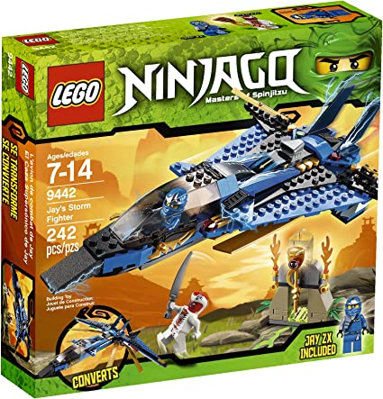Amazon.com: Ninjago LEGO de Jay Storm Fighter 9442.: Toys ...
