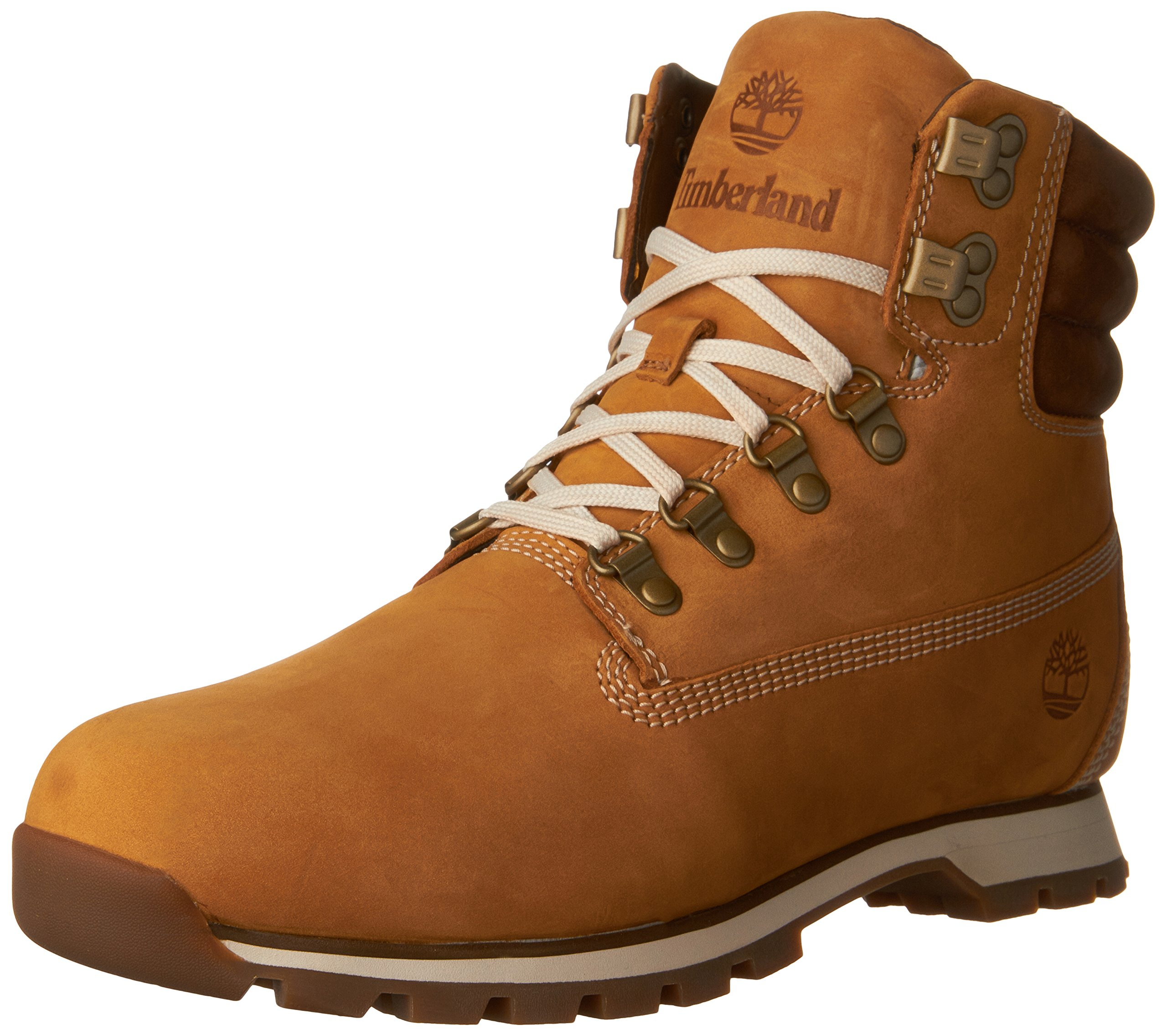 Timberland CA16W6 Men's Hutchington Hiker Boots, Wheat, 9 M US