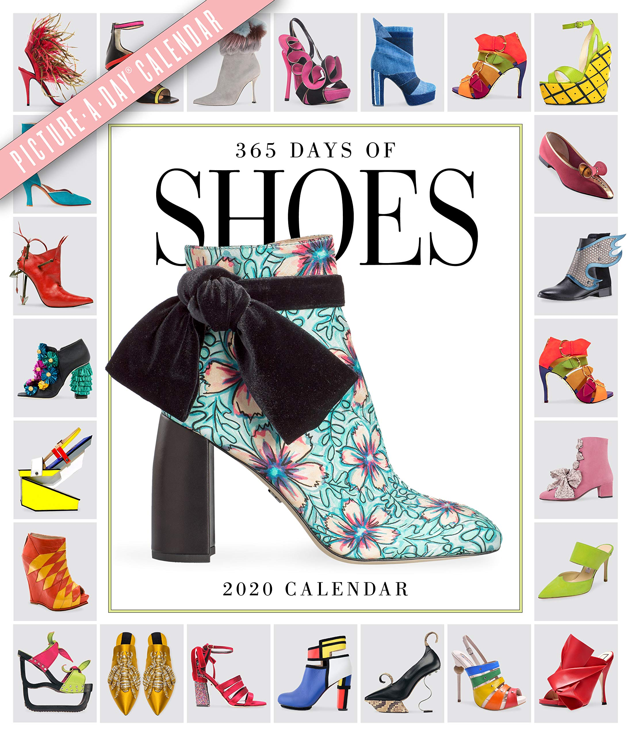 Shoe Calendar 2020 365 Days of Shoes Picture A Day Wall Calendar 2020   Lance
