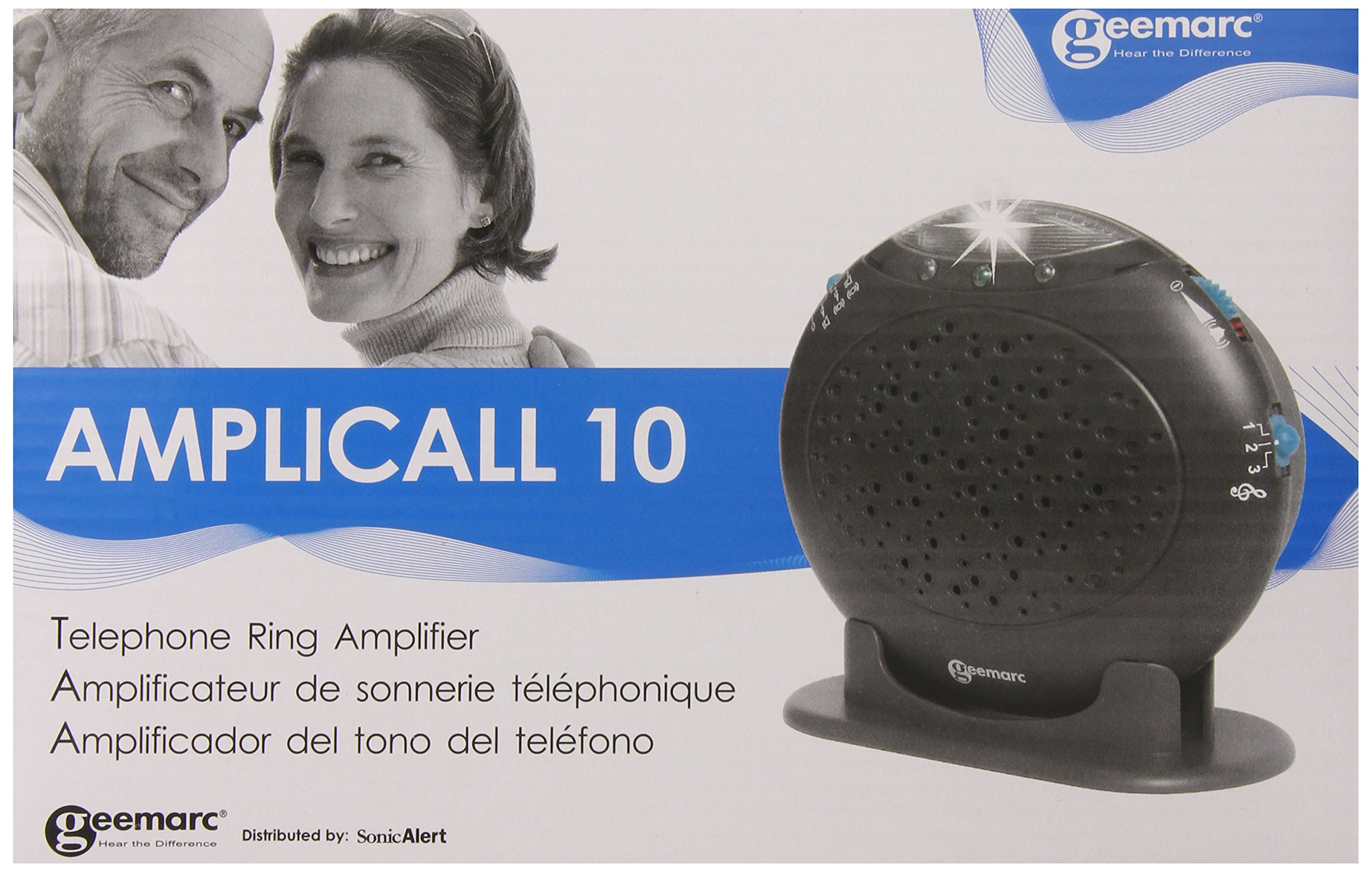 Geemarc Amplicall10 Telephone Ring Amplifier by Geemarc