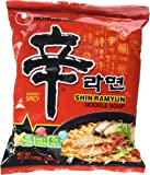 Shin Ramyun Hot Spicy Noodle Soup (Nong Shim-Gourmet Spicy) for 20 Bags by Nong Shim