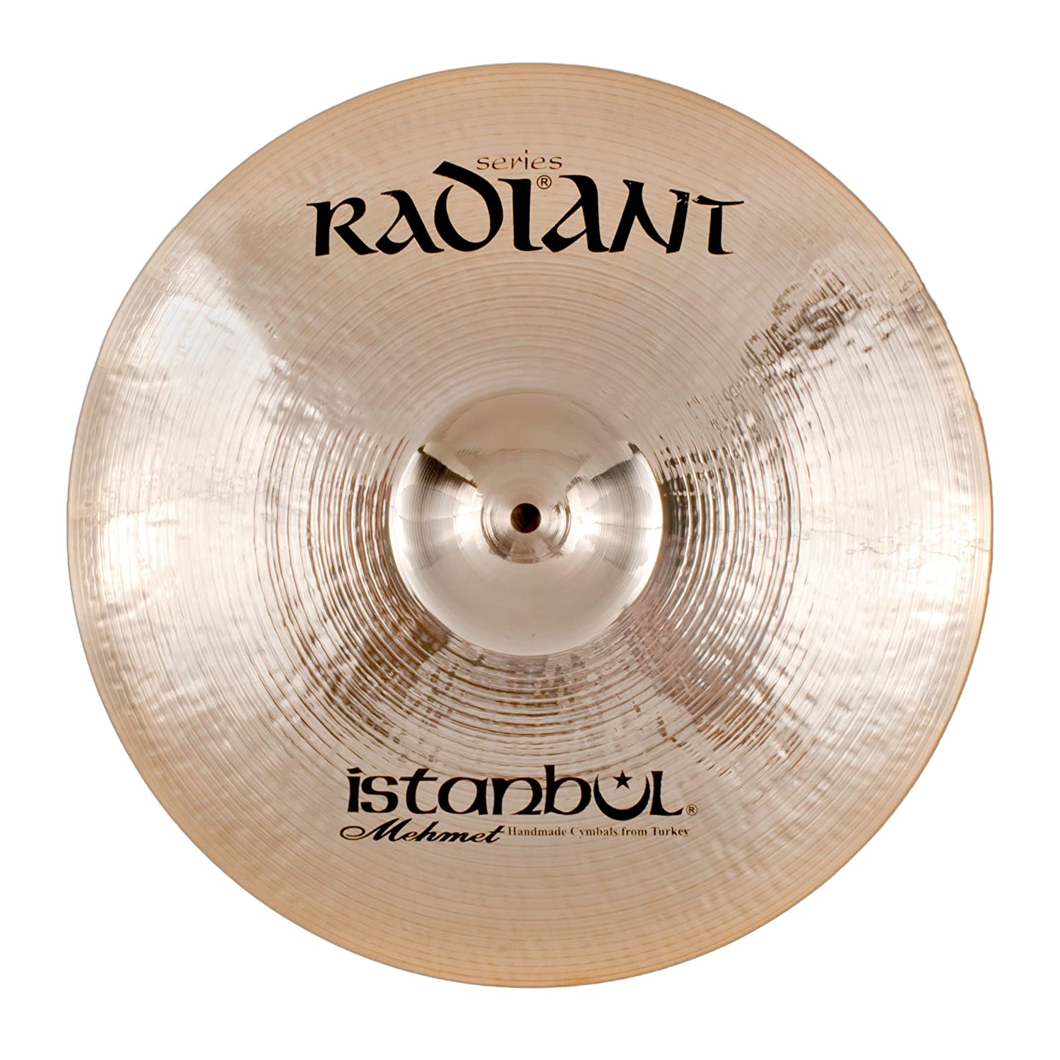 Istanbul Mehmet Cymbals Modern Series Radiant Rock Crash Cymbals R-CRR (18