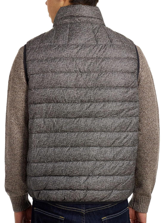 Hawke & Co Hombres Sin mangas Abrigo para sobre ropa - Gris - : Amazon.es: Ropa y accesorios