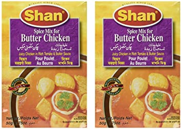 Shan Butter Chicken Mix 1.75 Oz (Pack Of 2)