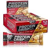 BSN Syntha-6 Protein Crisp Bar, Peanut Butter Crunch, 12 Count