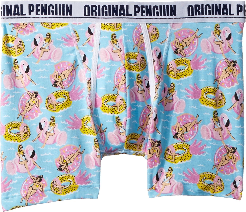 Original Penguin Mens Float Cotton Fashion Single Boxer Brief