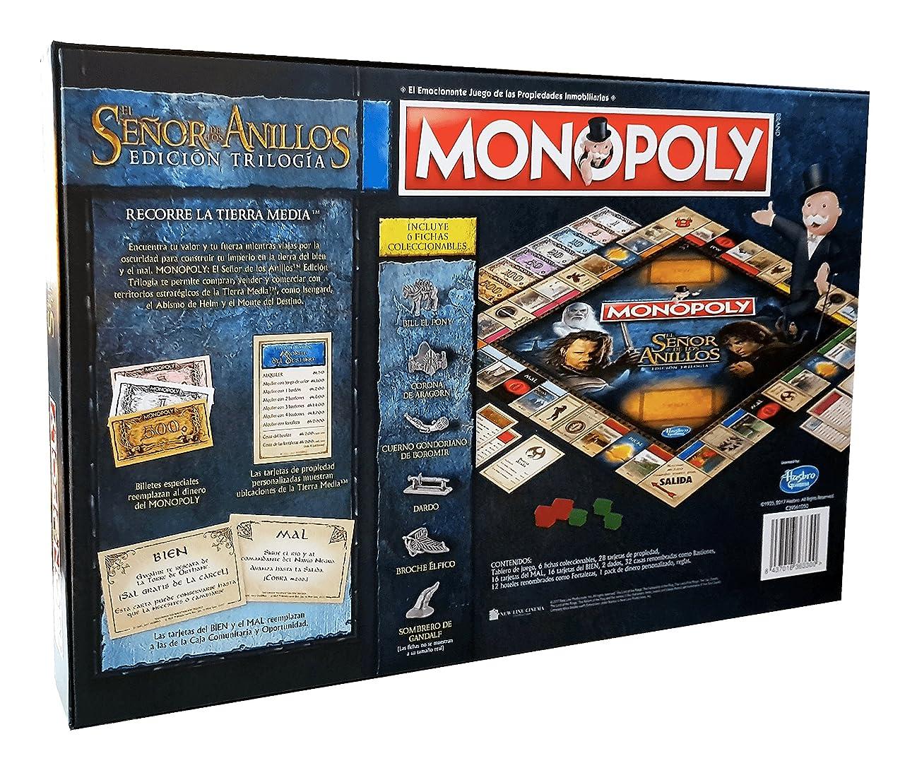 Comprar Eleven Force- Monopoly El Señor De Los Anillos (63300),, Ninguna (