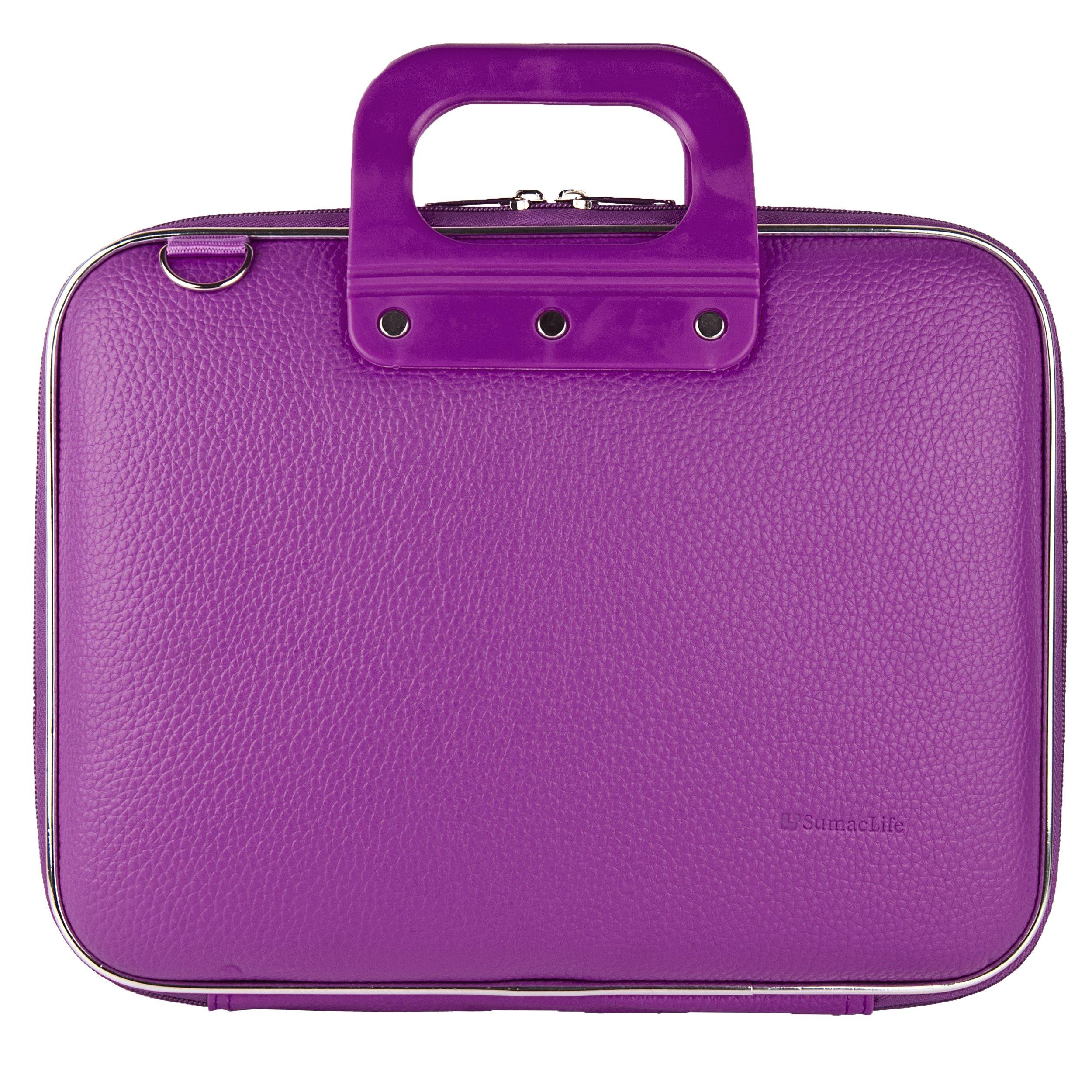 Lylic Shoulder Bag Briefcase for Sylvania 10-Inch/9 Inch Swivel Screen Portable DVD/CD/MP3 Player