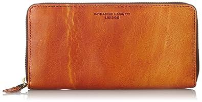 a11dfbb23134e  キャサリンハムネットロンドン  財布 高級イタリアベジタブルタンニンレザー FLUID フルイド ラウンドファスナー