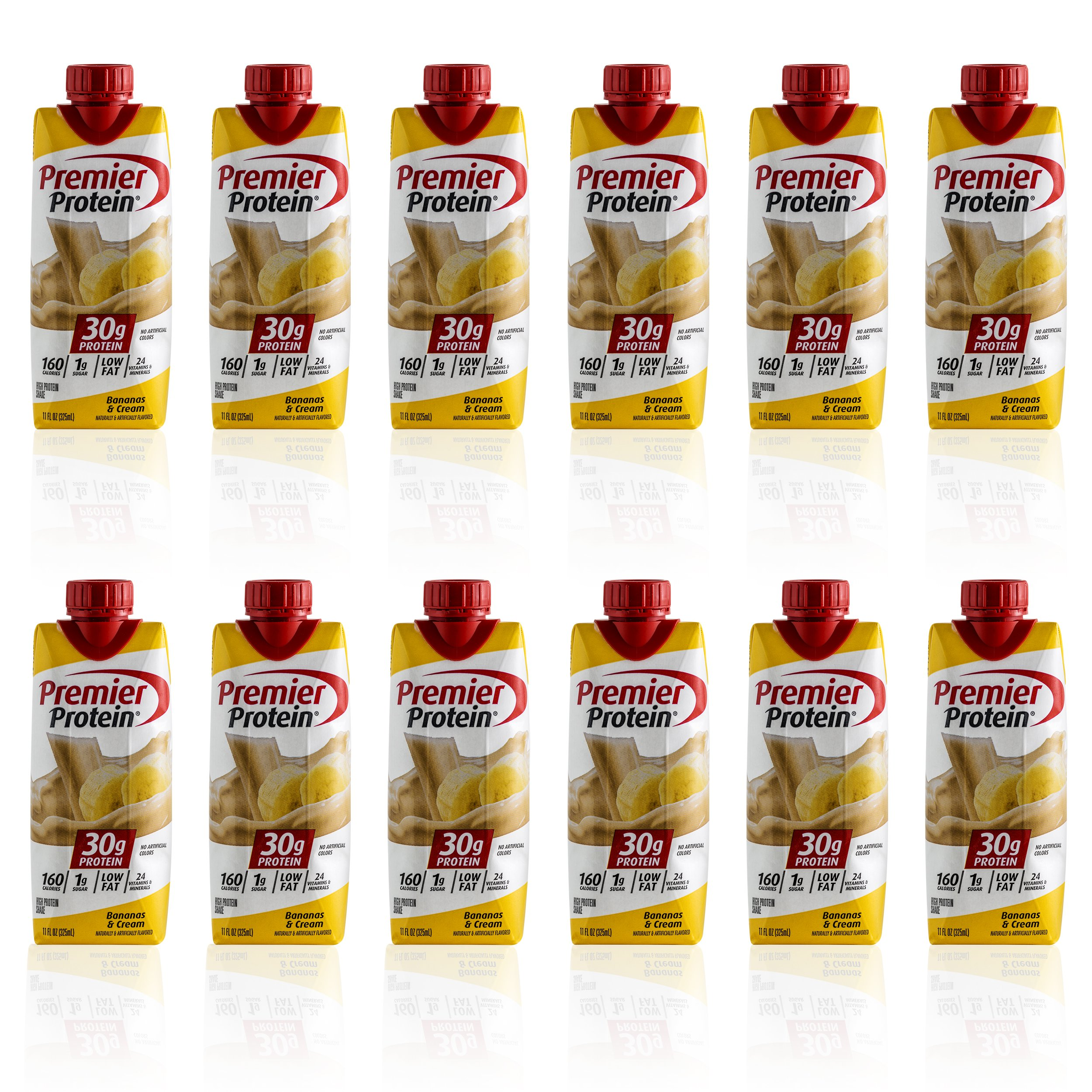 Premier Protein - 10 Pack (Bananas and Cream),11 fl.oz each