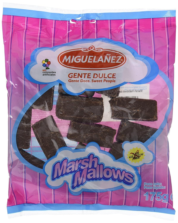 Miguelañez Marshmallow Chocolate - 175 gr: Amazon.es: Alimentación y bebidas