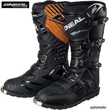 30fcf2d9076ad Botas Motocross Oneal Rider Boots Off Road Trail Track Enduro ATV Pit  Carreras Zapatos Protector Deportes Negro (EU 42 UK 8)  Amazon.es  Coche y  moto
