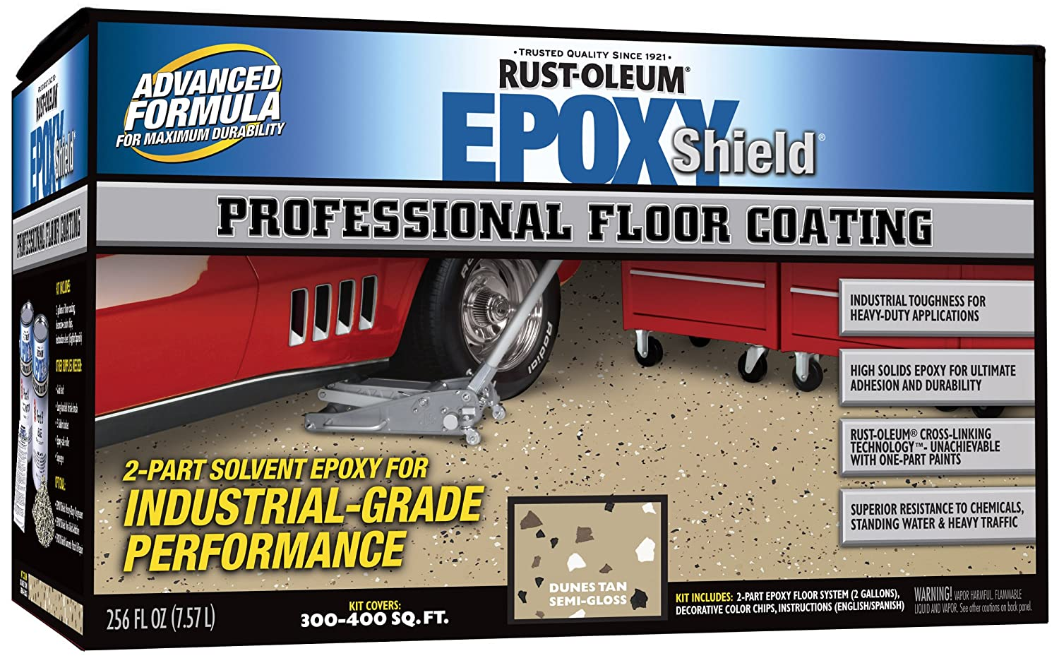Rustoleum Garage Floor Coating Kit Photo Album Watch Out Theres A
