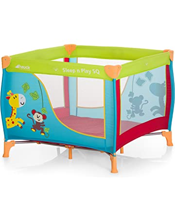 Hauck Sleep N Play SQ - Cuna parque ligero 3 piezas, 90 cm x 90