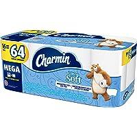 Charmin Ultra Soft Toilet Paper, 16 Mega Rolls (Equal to 64 Regular Rolls)