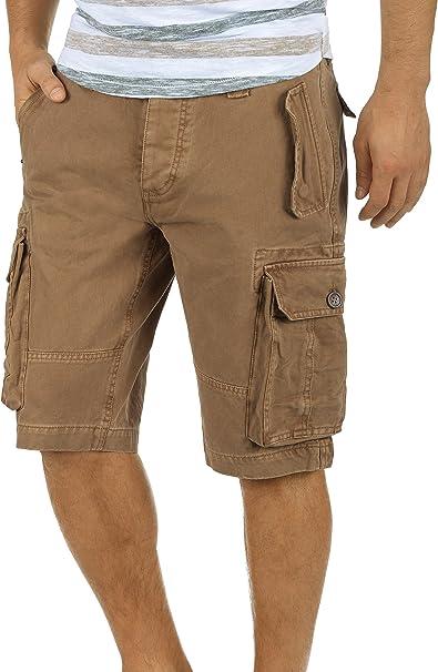 !Solid Pombal Pantalón Cargo Bermudas Pantalones Cortos para ...