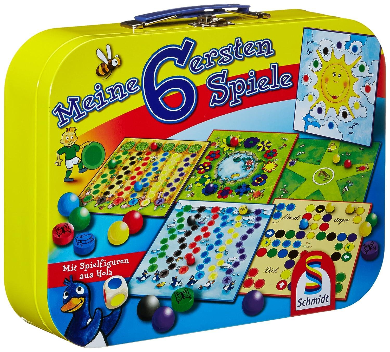 Schmidt Spiele 49154 - I miei primi sei giochi 40406 B003V8AS4G