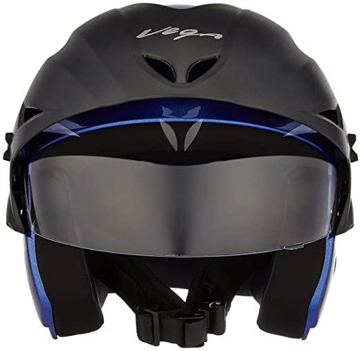 aa5434e4f30b4 Vega Cruiser CR-W P-MB-M Open Face Helmet (Metalic Blue