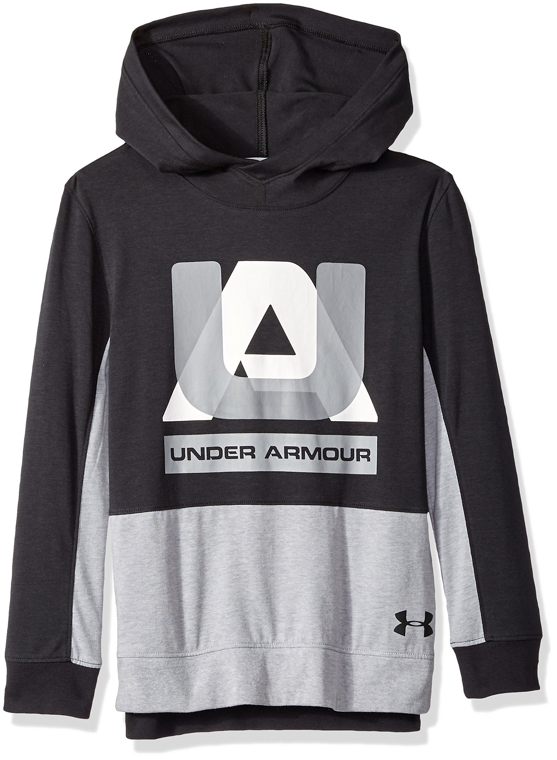 Under Armour Boys sportstyle Hoodie, Black (001)/Black, Youth X-Large by Under Armour