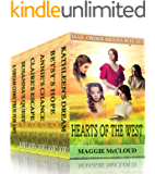 HEARTS OF THE WEST – Mail Order Brides 6 Book Box Set: Historical Western Romance