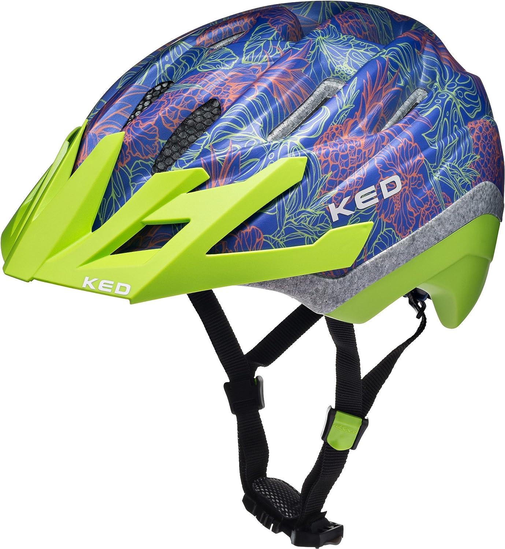 KED Dera II Helmet Kids schwarz Grün 2018 Fahrradhelm