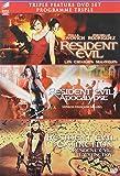 Resident Evil 1-3 Trilogy (Resident Evil/ Resident Evil: Apocalypse / Resident Evil: Extinction) (Bilingual)