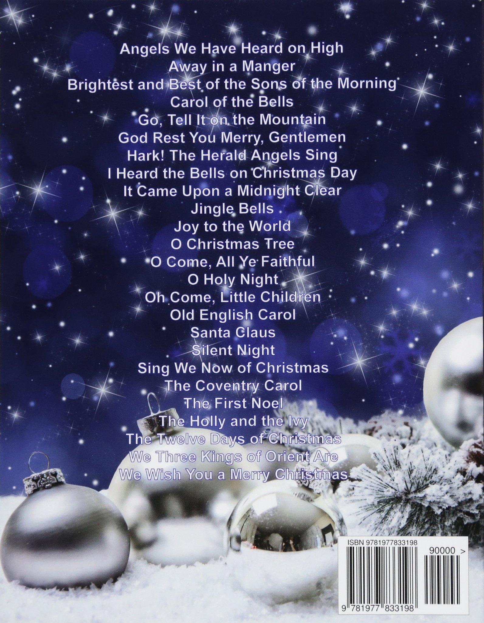 Amazon.com: Ukulele Christmas Songs: TABs and Chords (9781977833198 ...