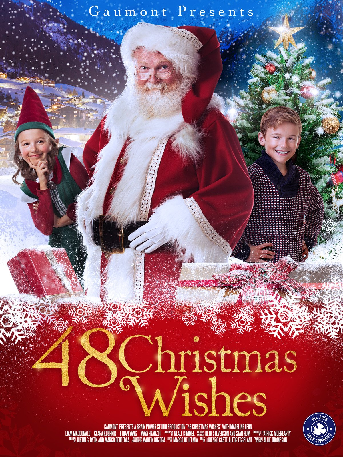 Amazon.com: 48 Christmas Wishes: Madeline Leon, Liam MacDonald ...