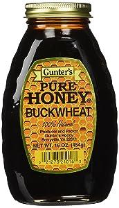 Gunter's Pure Buckwheat Honey, 16 Oz